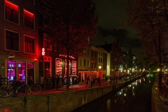 Red Light Destrict Amsterdam