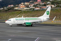Boeing 737-76J, Germania, D-ABLA