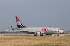Boeing 737-86N, AMC Airlines, SU-BPZ