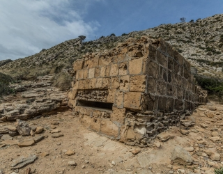 Bunker in der Cala Figuera