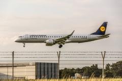 Embraer ERJ-195LR, , Lufthansa, D-AEMC