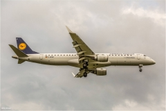 Embraer ERJ-195LR, Lufthansa, D-AEMD