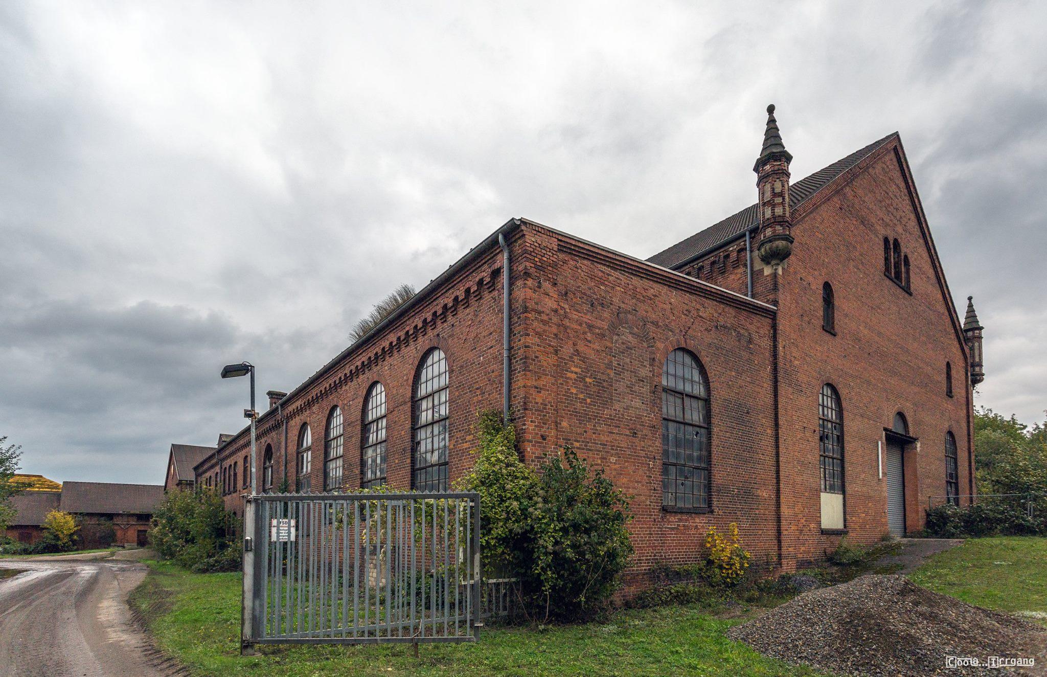 Kraftwerksgebäude Georgschacht