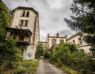 Knappschaft-Heilstätte am Steierberg