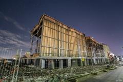 Spanischer Pavillon beim Abriss