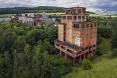Verladebunker Eisenerzgrube Echte