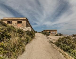 Verlassene Häuser Talaia d'Albercutx