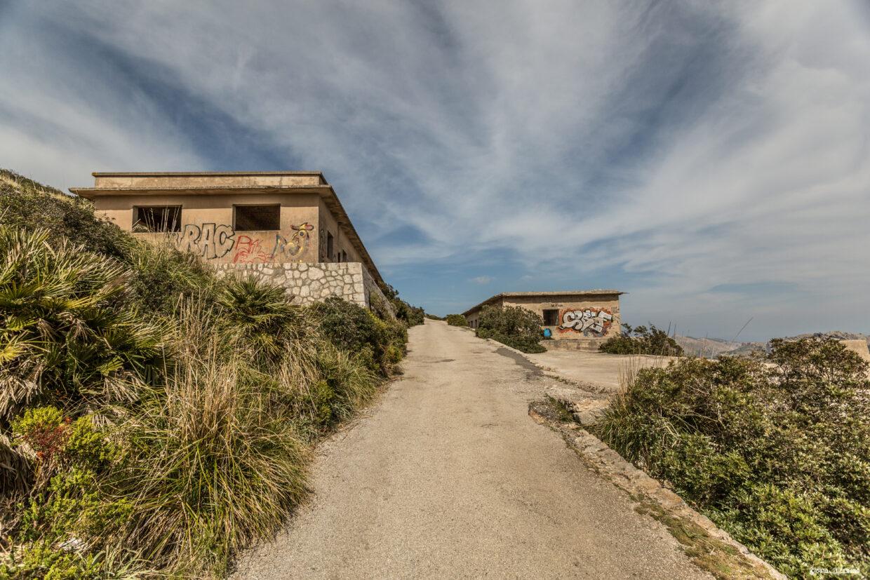 Verlassene Gebäude Talaia d'Albercutx