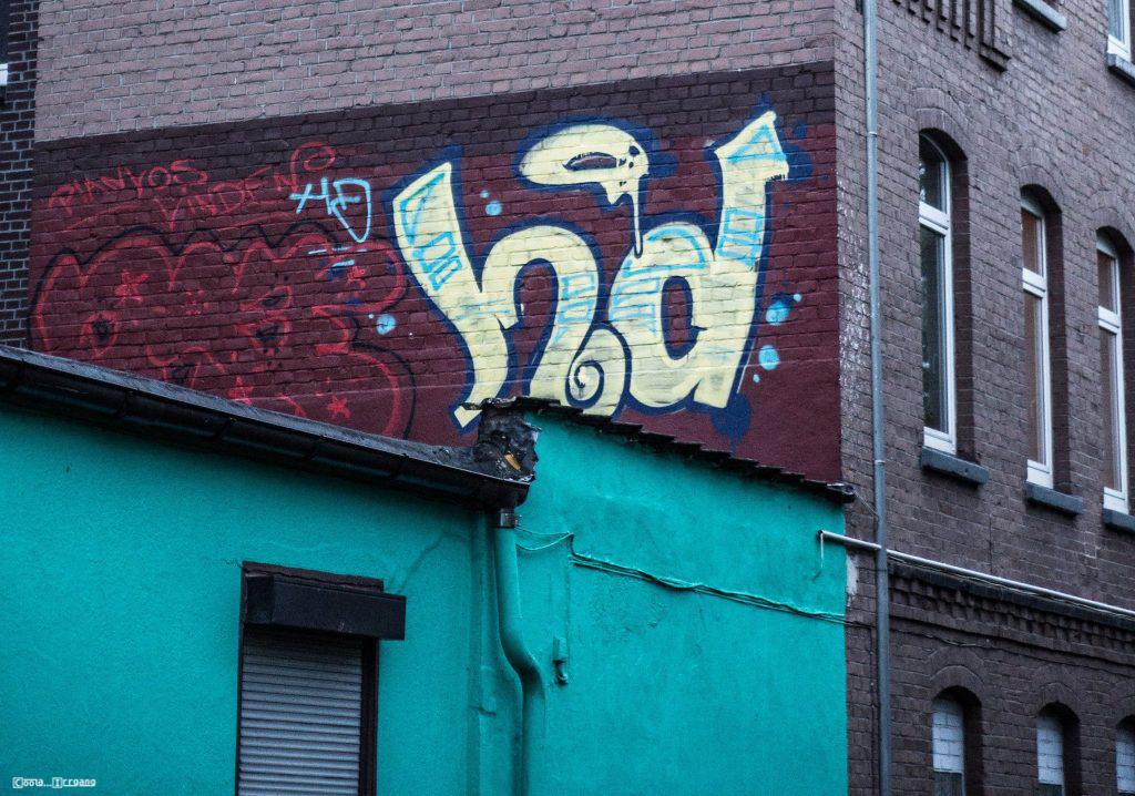 Graffiti Rooftop (Hausdach)