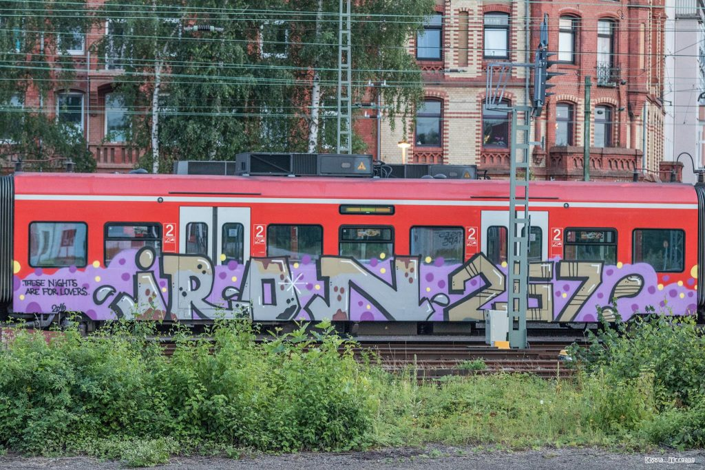 "Graffiti End to End (auch ""end2end"" oder ""e2e"")"