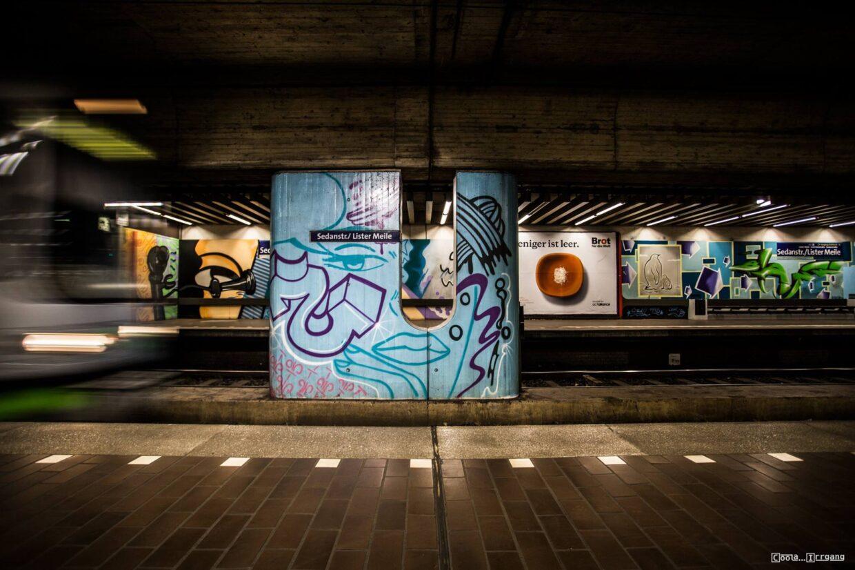 U-Bahnstation Lister Meile