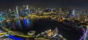 Nachtfotografie Singapur
