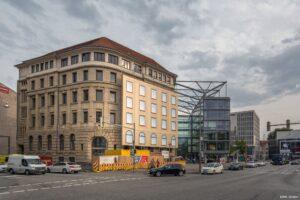 Altes Allianz-Gebäude am Aegi