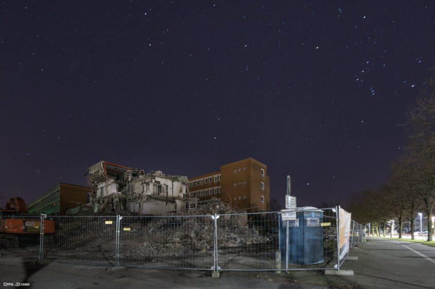 Abriss Oststadtkrankenhaus