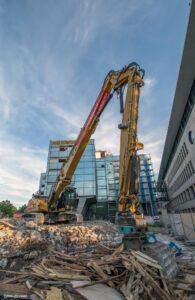 Ärztehaus Hannover Abriss